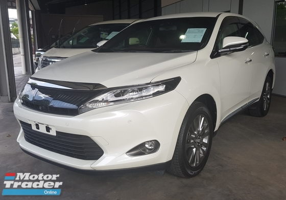2014 TOYOTA HARRIER PREMIUM ADVANCE 2014 RM169K WITH SST
