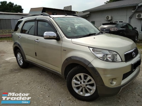 2011 TOYOTA RUSH 1.5 S (A) 7 SEATER
