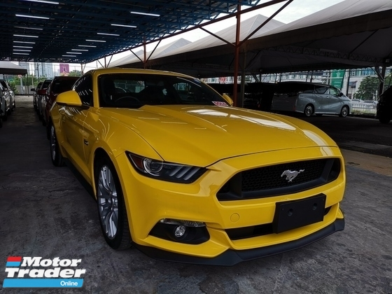 2016 FORD MUSTANG Mustang 5.0 GT with Shaker audio system