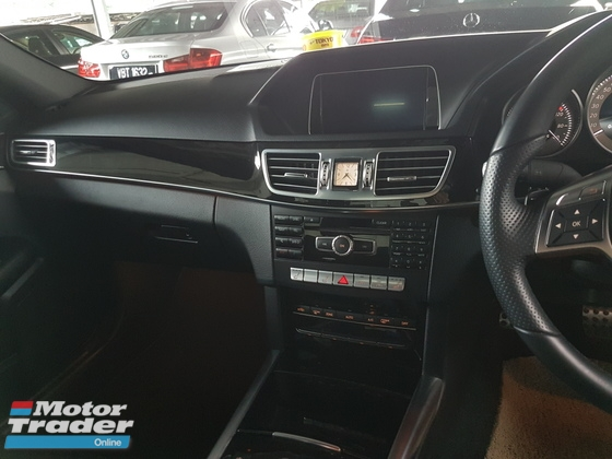 2014 MERCEDES-BENZ E-CLASS E200 AMG 2.0 TURBO SST INCLUSIVE ACTUAL YEAR MAKE