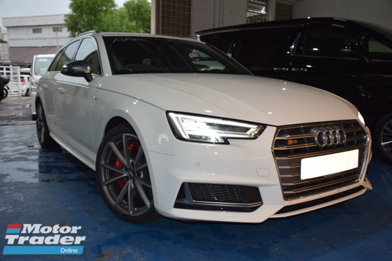 2017 AUDI S4 AVANT SLINE 3.0 WITH PANORAMIC ROOF FULL PACK