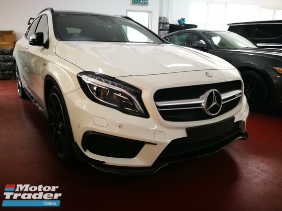 2015 MERCEDES-BENZ GLA 45 EDITION 1 FULL LOADED UNREG