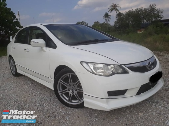 2008 HONDA CIVIC 2.0 AT I-VTEC,1OWNER,NEW PAINT,NEW TIRE,TYPE-R BODYKIT,LEATHER,PADDLE SHIFT,HID,ACCIDENT FREE