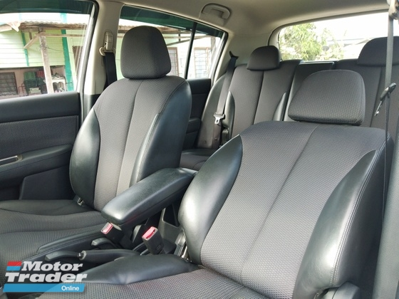 2008 NISSAN LATIO 1.8 TI  KEYLESS LEATHER SEAT