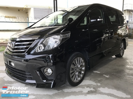 2013 TOYOTA ALPHARD Type Gold Edition , Home Theater 18 Speaker , SUPER OFFER , Warranty 3 Year