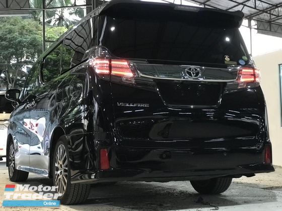 2016 TOYOTA VELLFIRE 2.5ZG Edition , Clear Stock , Year end Sale , SUPER OFFER FREE Warranty 3 Year