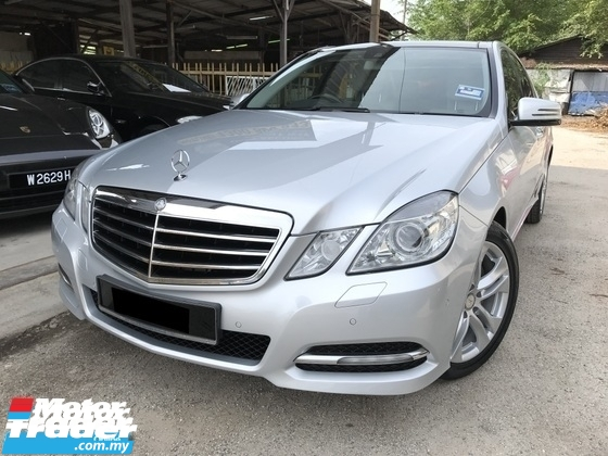 2010 MERCEDES-BENZ E-CLASS E300 3.0 (A) V6 7 SPEED