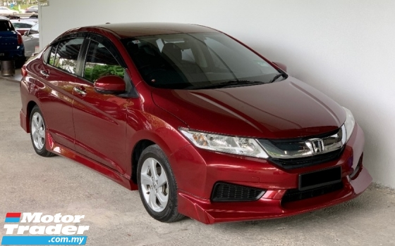 2017 HONDA CITY 1.5 I-VTEC (A) Facelift High Spec Model