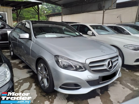 2014 MERCEDES-BENZ E-CLASS E250 2.0 (A) AVANTGARDE FACELIFT CKD