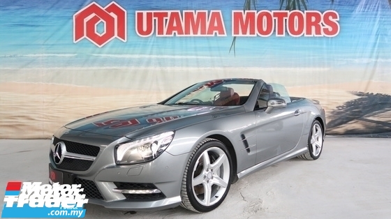 2014 MERCEDES-BENZ SL SL350 AMG SPORT CONVERTIBLE PADDLE SHIFT REVERSE CAMERA HARMON KARDON YEAR END SALE