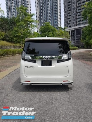 2016 TOYOTA VELLFIRE 3.5 EXECUTIVE LOUNGE EL