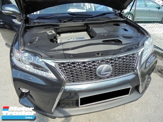 2009 LEXUS RX  Lexus RX450h 3.5 V6 Hybrid Facelift Sunroof Powerboot Rear&SideCamera LikeNEW Reg.2012