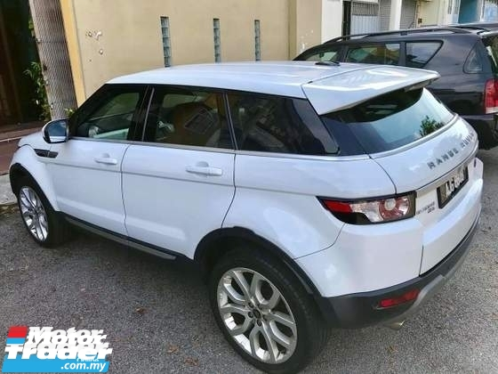 2011 LAND ROVER EVOQUE Dynamic