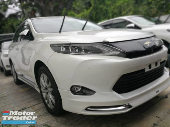2015 TOYOTA HARRIER FULL LOADED PREMIUM ADVANCE UNREG