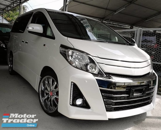 2014 TOYOTA ALPHARD G\'S Sport Spec , Limited Stock , Clear Stock Now
