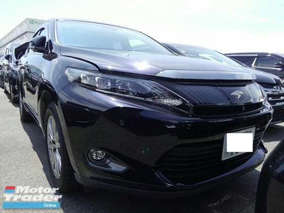 2014 TOYOTA HARRIER JBL 4 Cam PB Pre-crash Lane Keep Unreg
