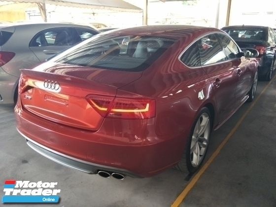 2013 AUDI S5 3.0 S LINE TFSI SUNROOF EDITION 1 YEAR WARRANTY LOCAL AP