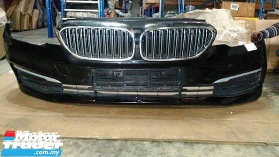 BMW G30 FRONT BUMPER NEW USED RECOND CAR PARTS SPARE PARTS AUTO PART HALF CUT HALFCUT GEARBOX TRANSMISSION MALAYSIA Enjin servis kereta potong separuh murah BMW Malaysia