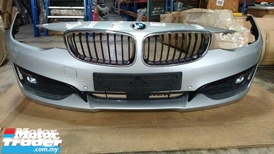 BMW F34 3 SERIES FRONT BUMPER NEW USED RECOND CAR PARTS SPARE PARTS AUTO PART HALF CUT HALFCUT GEARBOX TRANSMISSION MALAYSIA Enjin servis kereta potong separuh murah BMW Malaysia