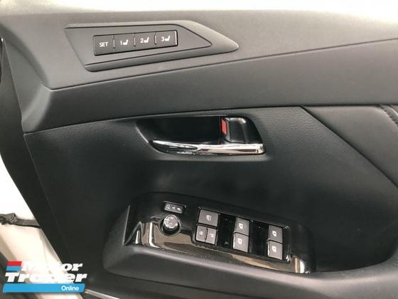 2017 TOYOTA VELLFIRE Unreg Toyota Vellfire ZG 2.5 Pilot 7seats 360view PowerBoot Keyless 7G