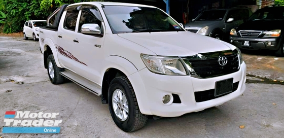 2013 TOYOTA HILUX DOUBLE CAB 2.5G (AT) ORIGINAL PAINT WELL MAINTAIN