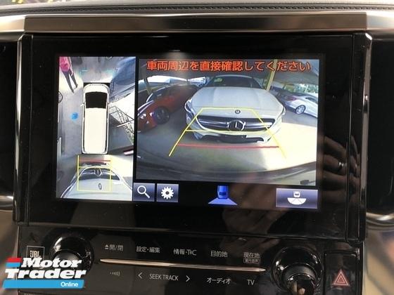 2015 TOYOTA VELLFIRE Unreg Toyota Vellfire 3.5 V6 VL Sunroof 360view Pre Crash PowerBoot Keyless 7G