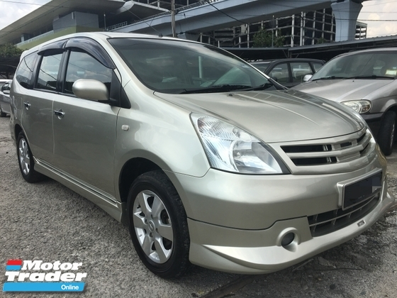 2011 NISSAN GRAND LIVINA 1.8  IMPUL BODYKIT