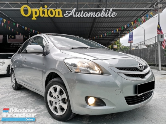 2010 TOYOTA VIOS 1.5E (AT) 1 OWNER ONLY NO ACCIDENT RECORD (ZERO DOWNPAYMENT) OTR