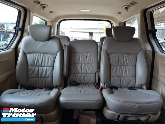 2010 HYUNDAI STAREX 2.5D (A) DIESEL ROYALE MPV 1 CAREFUL OWNER GOOD CONDITION ACC FREE PROMOTION PRICE.