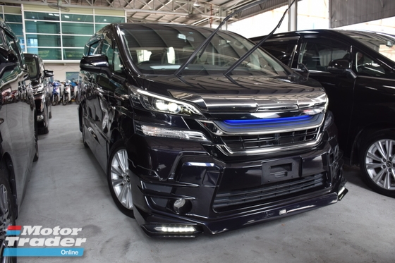 2015 TOYOTA VELLFIRE 2.5ZA Edition AFFORDABLE STYLE BODYKIT PRICE DOWN