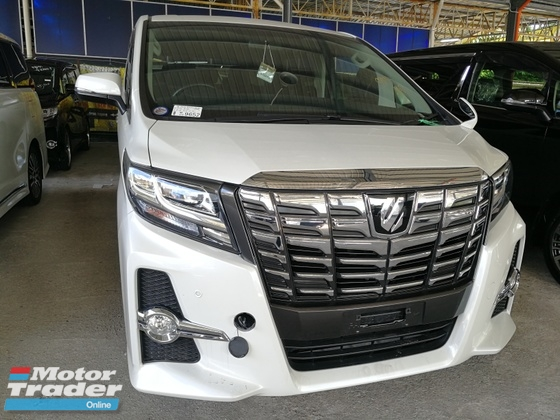2015 TOYOTA ALPHARD 2.5 SA SHOWROOM CAR UNREG 2015