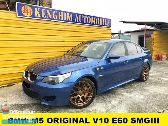 2007 BMW M5 ORIGINAL 5.0 (A) V10 E60 SMGIII SUNROOF 500BHP HUD