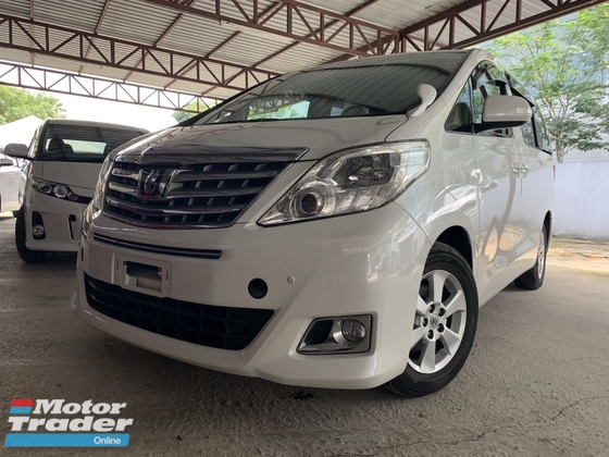 2014 TOYOTA ALPHARD 2.4 X SPEC 2 POWER DOOR 8 SEATS UNREG