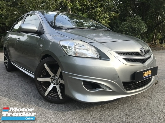 2010 TOYOTA VIOS 1.5 (M) TRD BODYKIT FULL SEVICE RECORD LIKE NEW