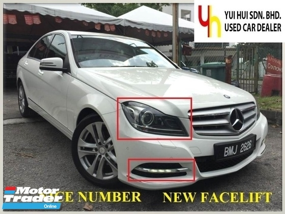 2013 MERCEDES-BENZ C-CLASS 2013 Mercedes Benz C200 CGi AVNTGRDE 1.8 (A) 1 GOOD OWNER NEW FACELIFT