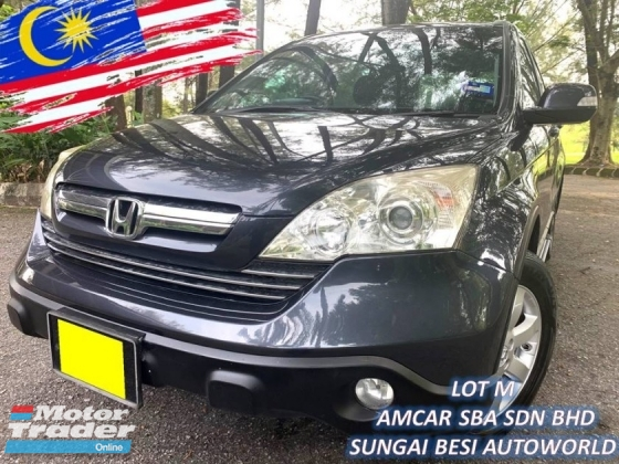 2007 HONDA CR-V 2.0 I-VTEC [SELL BELOW MARKET] OFFER