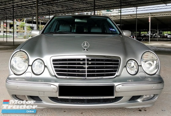 2001 MERCEDES-BENZ E-CLASS E280 CLASSIC MODEL OF A GENERATION STILL KEEP VERY WELL MUST VIEW