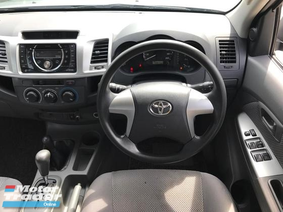 2013 TOYOTA HILUX DOUBLE CAB 2.5 G (A) GREEN TURBO DIESEL 4X4