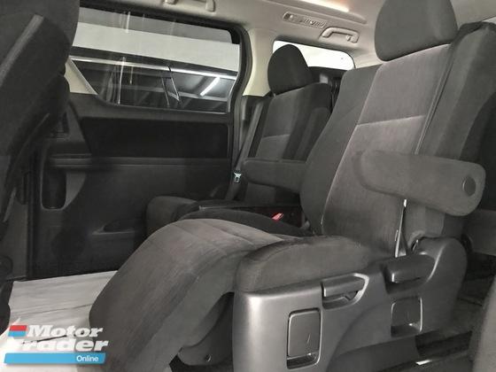 2014 TOYOTA VELLFIRE 2.4Z  , 2 Power Door , 7 Seater , Year End Sale OFFER , Warranty 3 Year