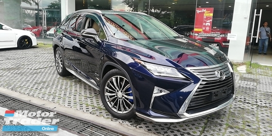 2016 LEXUS RX RX200T Japan spec