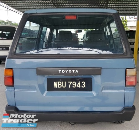 1989 TOYOTA LITEACE 1.5  MUST VIEW GOOD CONDITION