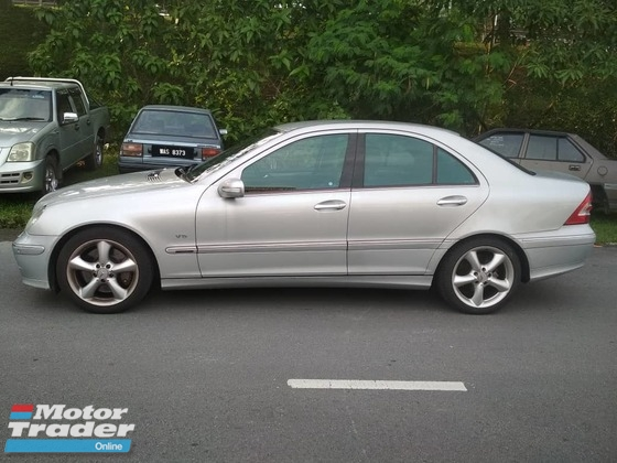 2007 MERCEDES-BENZ C-CLASS C230 AVANTGARDE 2.5 (A) TIPTOP CONDITION