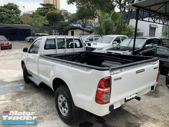 2014 TOYOTA HILUX SINGLE CAB 2.5 4X4 VNT TURBO FACELIFT MODEL TIPTOP CONDITION 0122537416