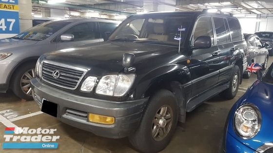 1999 TOYOTA LAND CRUISER 4.7(A) CAR KING CASH AND CARRY