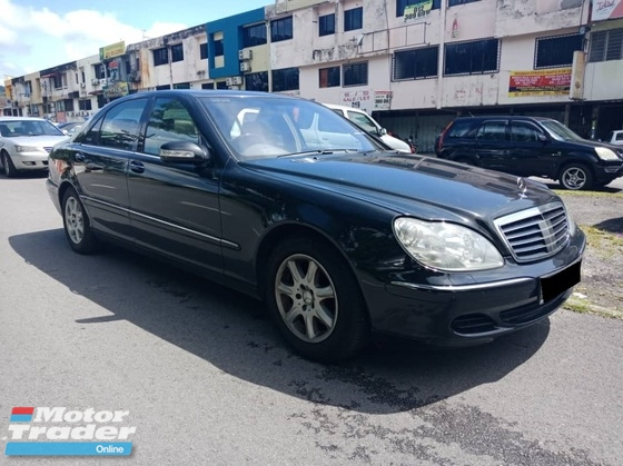 2003 MERCEDES-BENZ S-CLASS 350L 3.7(A) CASH AND CARRY