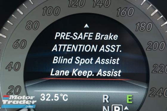 2013 MERCEDES-BENZ E-CLASS E250 AVANTGARDE / PRE-SAFE / BLIND SPOT ASST/ LANE KEEP ASST
