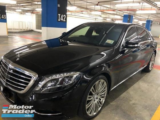 2015 MERCEDES-BENZ S-CLASS S400L HYBRID NEW MODEL JULY 2015 DONE 17K KM ONLY