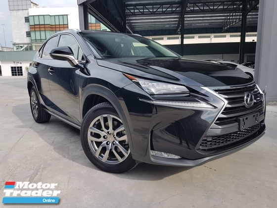 2015 LEXUS NX 2015 Lexus NX200T Ver L Sun Roof Pre Crash Full Leather Power Boot Side & Reverse Camera Unregister for sale