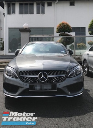 2017 MERCEDES-BENZ C-CLASS C250 COUPE , PRE-OWNED