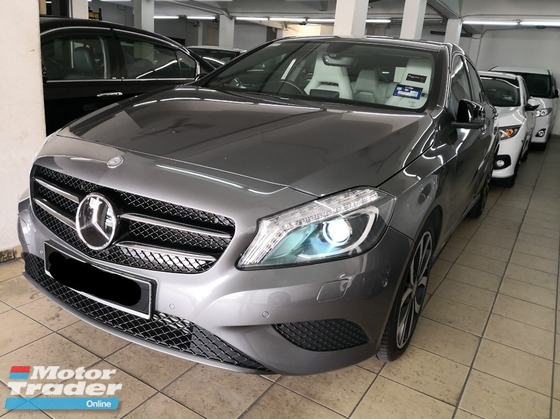 2014 MERCEDES-BENZ A-CLASS A200 CBU TRUE YEAR MADE 2014 NO SST Mil 8k km only Like New Car Full Service Record Under warranty